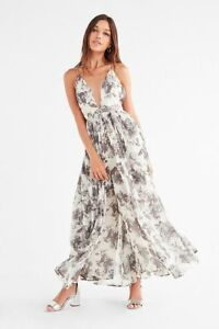 395242c8f5cb Image is loading 169228-New-Urban-Outfitters-Pamela-Gauzy-Floral-Printed-