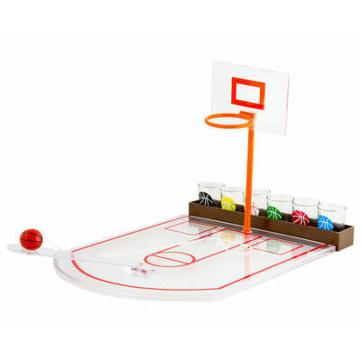 Basketball Shot Glass Drinking Game