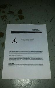 best authentic d98f1 6c958 Image is loading Jordan-retro-11-72-10-receipt