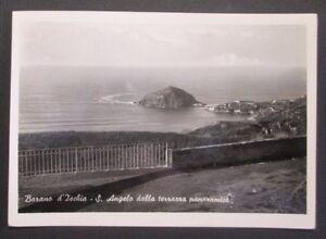 Dettagli Su Cartolina Barano D Ischia Napoli Sant Angelo Dalla Terrazza Vg 1954