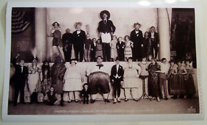 XL-Format-HiQ-Poster-1924-Barnum-Bailey-Circus-Congress-of-Freaks-36x22-Sideshow