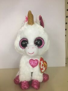 23b5df21576 Ty Beanie Boo CHERIE the Valentine Unicorn-Store Exclusive 6