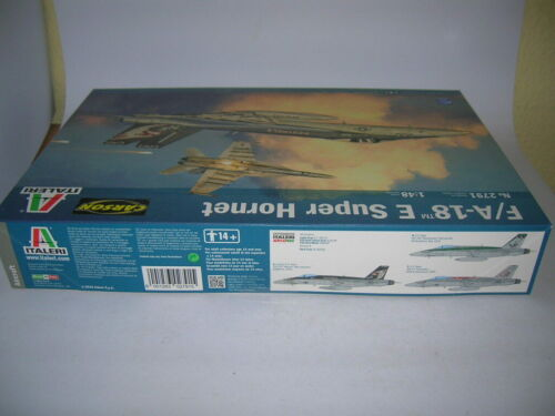 Italeri F//A-18 E Super Hornet Bausatz Kit 1:48 Art 2791 Aircraft Flugzeug