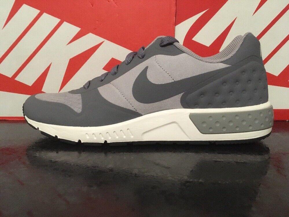 1Q Nike Nightgazer LW UK 6 EU 40 US 7 844879-001 Grey