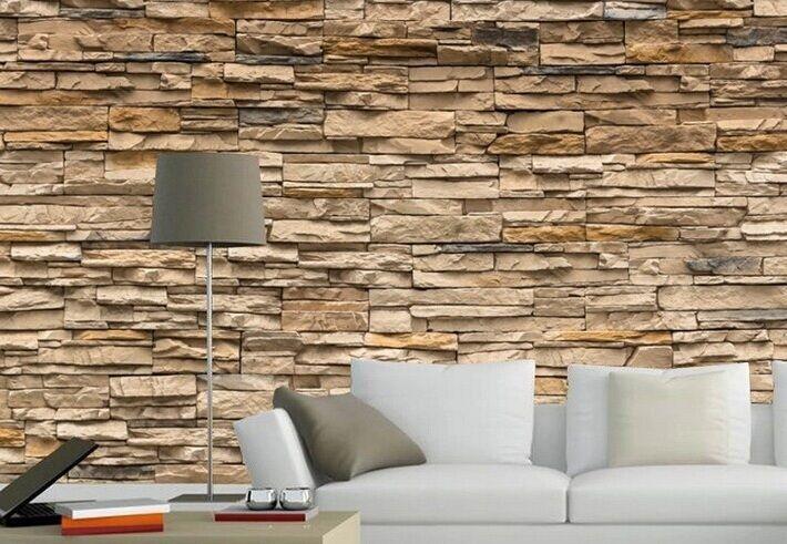 3d wallpaper bedroom living mural roll modern faux brick
