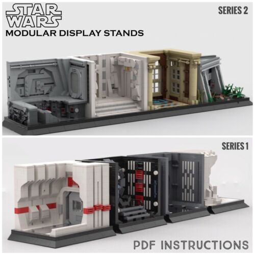 **SALE** Lego Star Wars MOC Modular Display Series 1 /& 2 PDF Instructions Only
