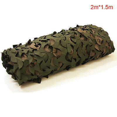 Shooting Hide Army Camouflage Net Hunting Camo Netting Various Sizes Woodland