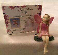 DEZINE ~ The Fairy Collection ~ BLUSHING FAIRY  #5821 ~ Ltd Ed Figurine w COA