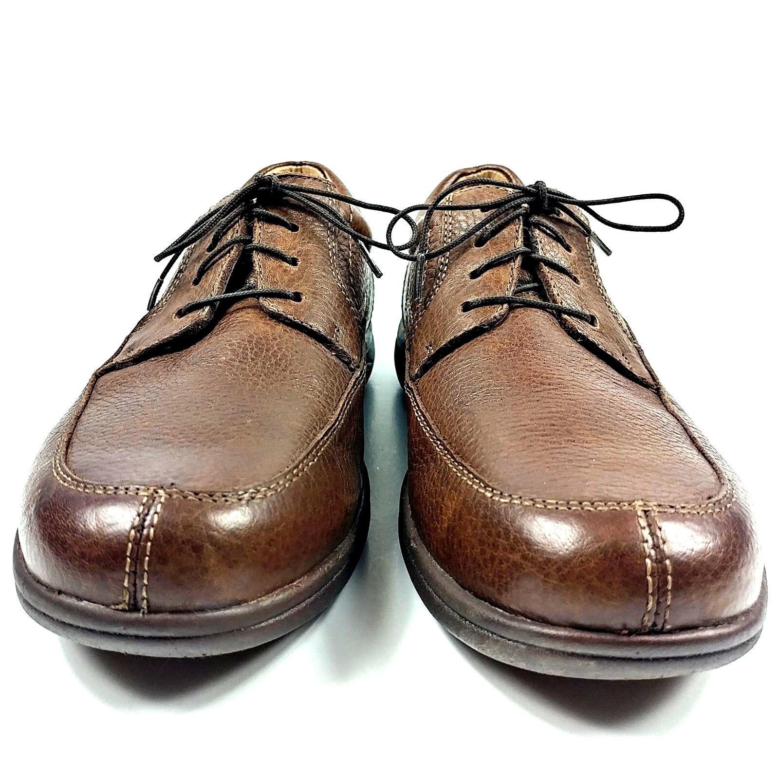 ABEO SMART SMART SMART SYSTEMS-3820 TIE damen lace Up Moc Toe braun Leather schuhe Größe 7.5M 979491