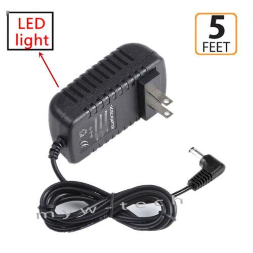 AC//DC Power Supply Adapter For Akai Professional MPK61 MPK88 USB Midi Keyboard