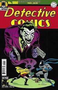 Details About Batman Detective Comics 1000 1940s Bruce Timm Joker Variant Cover Comic Book 1