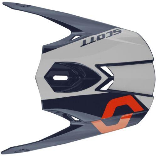 Scott 350 Pro Trophy Visor Helm Visier blau/weiß/orange Helmzubehör