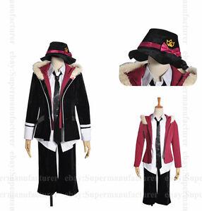Diabolik Lovers Laito Sakamaki Uniform Cosplay Costume Any Size