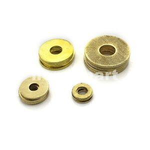 5PCS-100PCS NEW Brass Flat Washers gasket pad mat M2-M20 ...