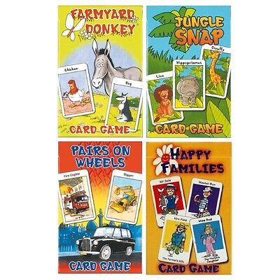 Ragionevole Giochi Di Carte Tradizionale Per Bambini-famiglie Felici Giungla Snap Asino Coppie Snap-mostra Il Titolo Originale Una Grande Varietà Di Modelli