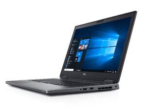 Dell-Precision-7530-i9-8950HK-6-Core-32Gb-512Gb-SSD-UHD-WX-4150-4Gb-Win-10-Pro