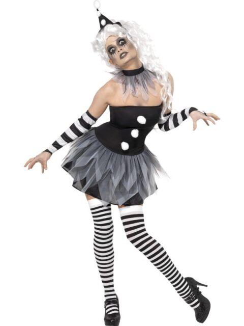 Disfraz de Payaso Horror Vestido de Mujer Disfraz de Halloween