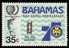 BAHAMAS 575 (SG706) - Girl Guides 75th Anniversary