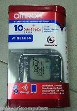 Omron BP653 10 Series Wrist Blood Pressure Monitor + Bluetooth Smart Wireless