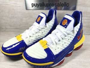 "watch 66515 fc3fe Details about Men's Nike LeBron XVI (16) SB Superman ""SUPERBRON"" CD2451-100  Size 7.5"