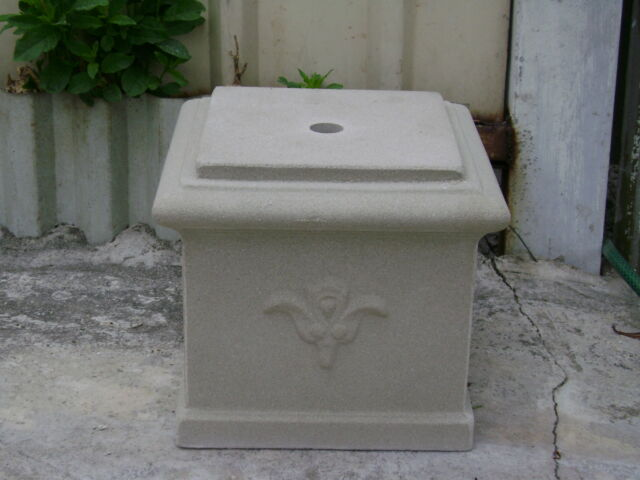 NEW 27cm Low Garden Plinth Pedastal Pot Stand