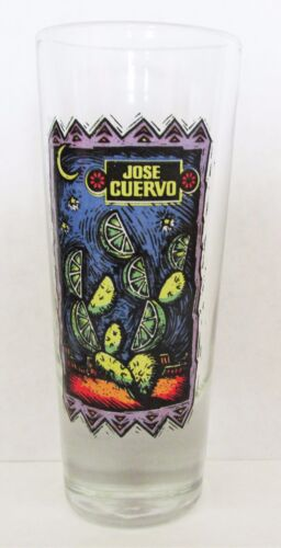 "JOSE CUERVO TEQUILA, COLORFUL LIME 3 12"" SHOT GLASS"