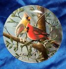 The Cardinal Birds Of Your Garden Collection Knowles Collector Plate