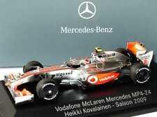 1:43 McLaren Mercedes MP 4-24 Formel 1 2009 Nr.2 Heikki Kovalainen - Dealer OEM