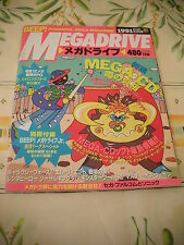 SEGA BEEP MEGADRIVE REVUE ISSUE MAGAZINE JAPAN IMPORT OCTOBER 1991 10/91!
