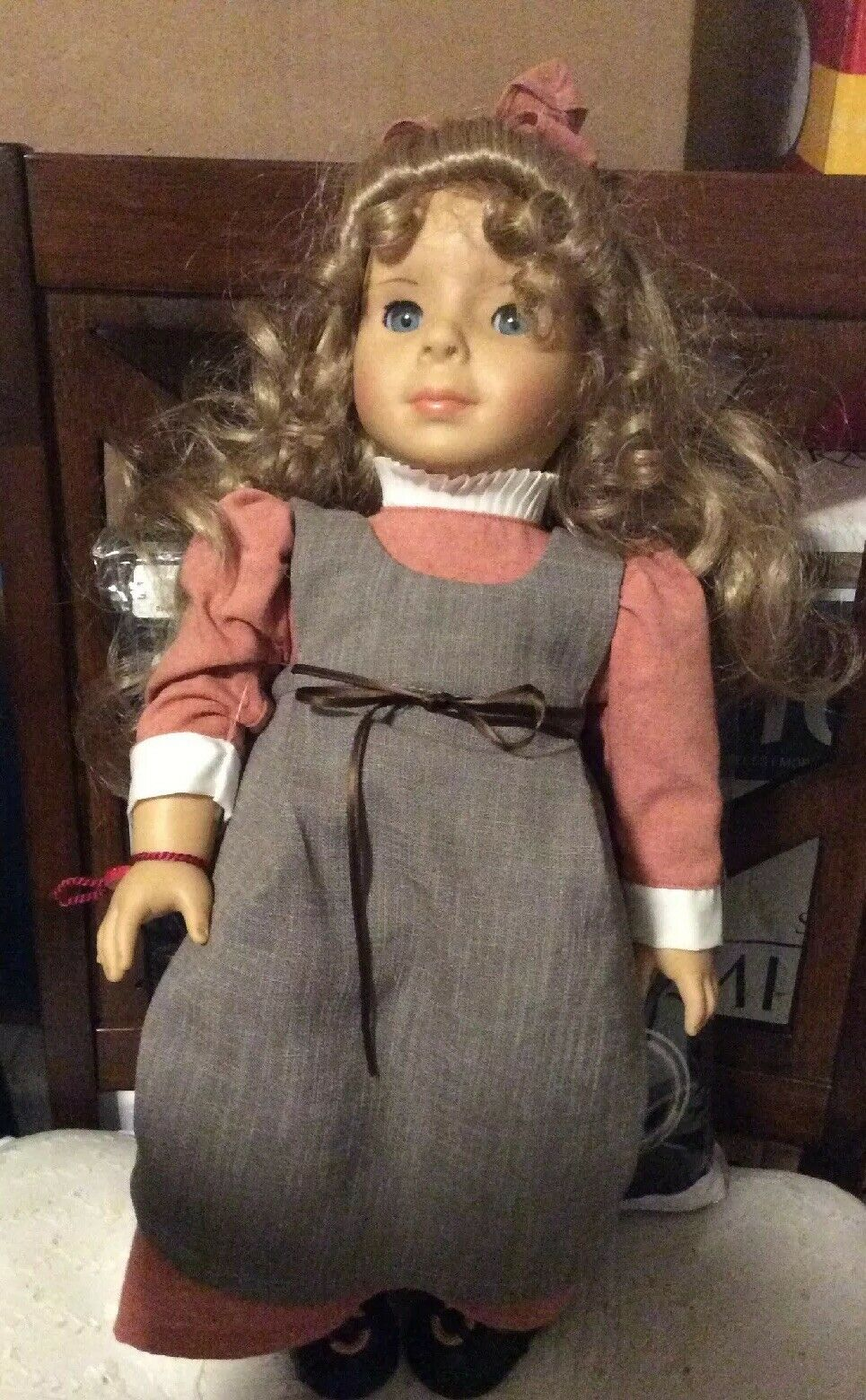 Gotz Elizabeth Cady Stanton Doll German blonde 18'' used condition 2192 5000
