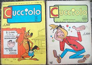 1965 Beaucoup De 2 Bandes DessinÉes 'chiot' éditions Alpe. N. 5 Année Xiv Et N. Yxxfjodd-07183732-279875041