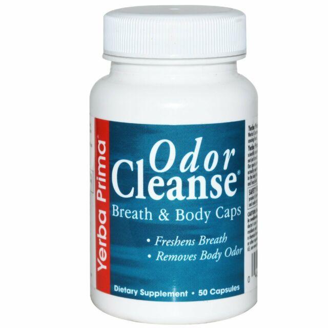 Yerba Prima, Odor Cleanse Breath & Body Caps, 50 Capsules