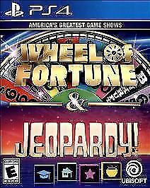 Wheel Of Fortune Jeopardy Ps4 New Family Game Party Night Puzzle