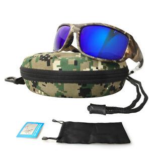 b9d0755dd6b Image is loading Fishing-Sunglasses-Camouflage-Polarized-Glasses-Men-Women- Cycling-