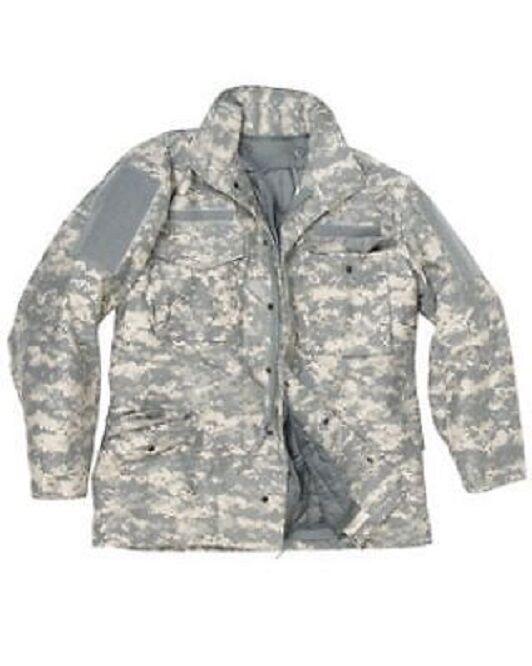 US UCP M65 Feldjacke Army Feldparka ACU Parka Jacket  mit Futter Liner  3XL
