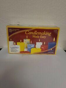 Candlemaking-Made-Easy-Candle-Making-Kit-1999-Yaley-Enterprises-NEW-SEALED-NOS