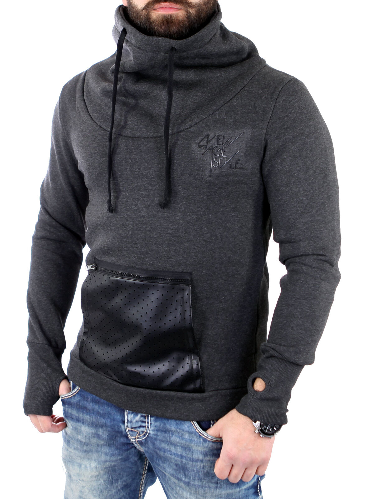 VSCT Sweatshirt Herren Tube Hoody Zip-Mesh-Tasche Pullover Hoodie V-5641439 V-5641439 V-5641439 Neu | Beliebte Empfehlung  710d3c