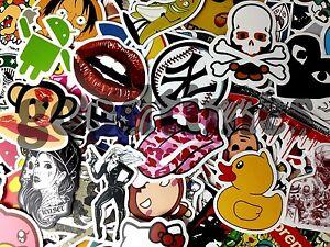 20-Aufkleber-Doodle-Retro-Sticker-Set-Dekoration-Auto-Stickerbomb-Laptop-Handy