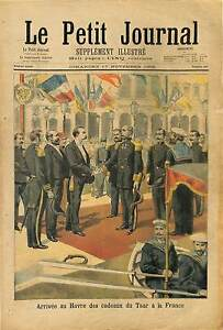 Port-Havre-Cadeaux-France-Nicolas-Nicholas-II-Russia-Russie-1895-ILLUSTRATION
