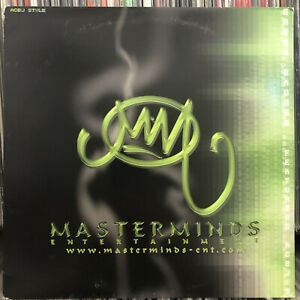"""GREEN BADGER - ACBJ STYLE / YAW'LL N*GGAS (12"""")  2000!!  RARE!!  MASTERMINDS ENT"""
