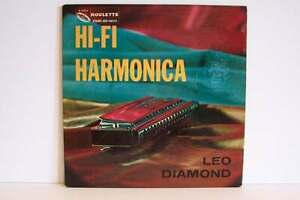 Leo Diamond - Hi-Fi Harmonica Vinyl LP Record Album R-2