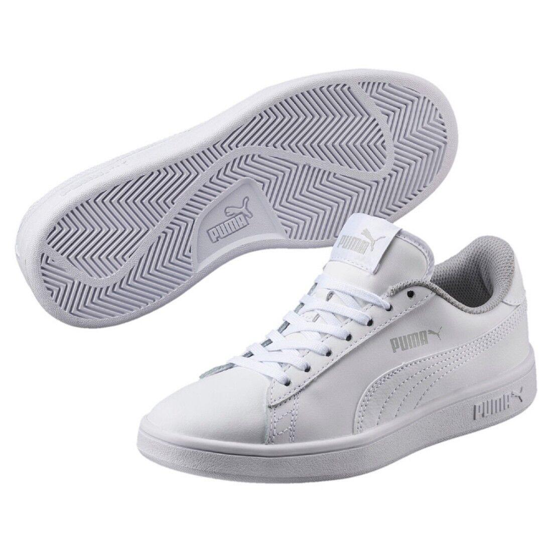 Zapatos promocionales para hombres y mujeres Puma Smash V2 L JR low-top Unisex Niños