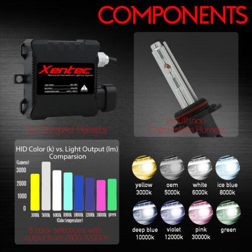 XENTEC HID Xenon Headlight Conversion Kit H1 H4 H7 H11 9005 H13 9004 9006 880//1