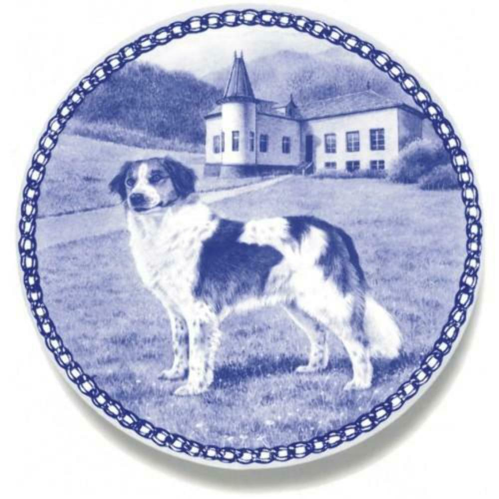 Kromfohrländer - Dog Plate made in Denmark from the finest European Porcelain