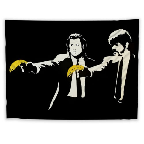 Banana Killer Wall Hanging Tapestry Psychedelic Bedroom Home Decoration