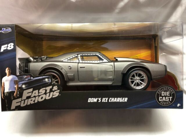 Dodge Ice Charger >> Fast Furious Dom S Ice Charger 1968 Dodge Charger Jada 1 24 Diecast