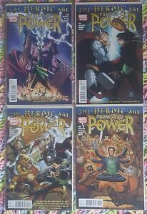 MARVEL-COMICS-THE-HEROIC-AGE-PRINCE-OF-POWER-1-2-3-4-COMPLETE-SERIES-SET