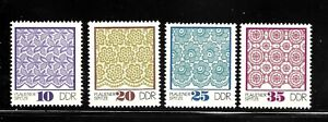 GERMANY-GERMAN-DEMOCRATIC-REPUBLIC-DDR-Sc-1563-1566-MINT-NO-HINGE