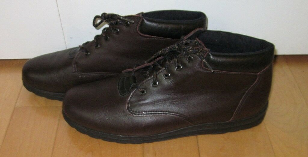 Munro Sport Wms marron Leather Pant bottes 12 M M M 9e2007