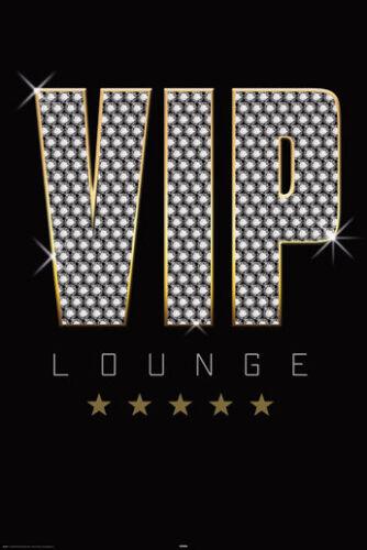 ROCK MUSIC POSTER VIP Lounge